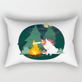 Forest of the Unicorn Rectangular Pillow