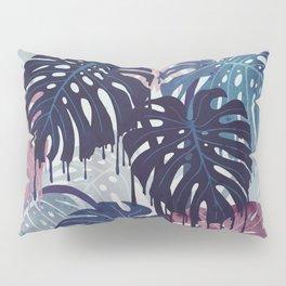 Monstera Melt Pillow Sham