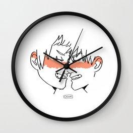 Bakushima SMILE Wall Clock