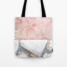 Abstract Pink Art Tote Bag