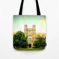 medical Tote Bags featuring duke medical by Chromatic Reflections