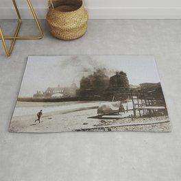 September 12, 1900 Fire at Narragansett Towers, Casino, & Rockingham Hotel Rug