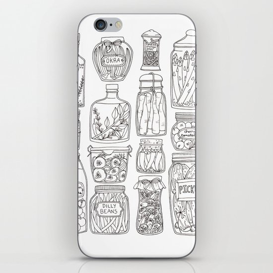 Pickles Print iPhone & iPod Skin