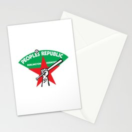 People's Republic Of Burlington Softball Stationery Cards
