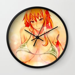 Cat Burglar Nami Wall Clock