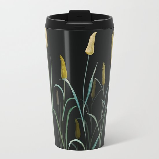 Prairie at Night Metal Travel Mug