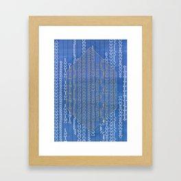 Brow Framed Art Print