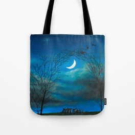 The Moon Gate Tote Bag