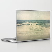 salt water Laptop & iPad Skins featuring Salt Water Cures by V. Sanderson / Chickens in the Trees
