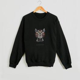 Cat Wrestler Crewneck Sweatshirt