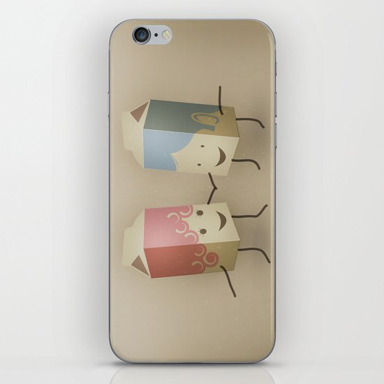 I only have pasteurised for you iPhone & iPod Skin
