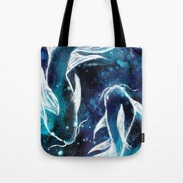 Celestial Fish Tote Bag