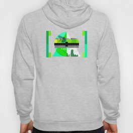 Waiting for the show to begin (Test Pattern 3) Hoody