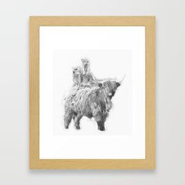 Fantastic 3 Framed Art Print