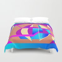 celestial Duvet Covers featuring Celestial by MZ Designs