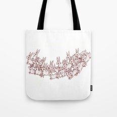 Lepus Leap Tote Bag