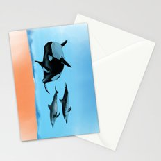 Orca and Dolphin Stationery Cards