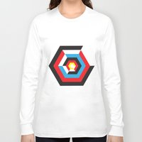 bauhaus Long Sleeve T-shirts featuring Bauhaus by liz williams