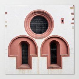 Church Windows Canvas Print