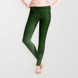 Green Ombre Leggings