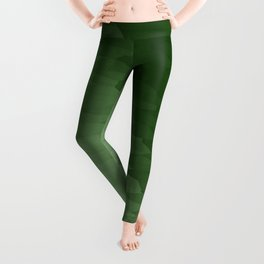 Green Ombre Texture Leggings