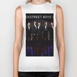 dna backstreet tour 2019 boys halim Biker Tank