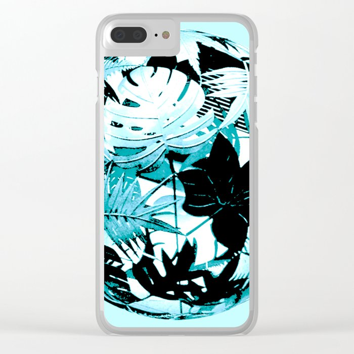 floral ball Clear iPhone Case