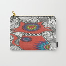 Kitty-tangle Carry-All Pouch