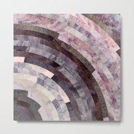 Granite Wheel Metal Print