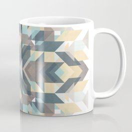Geometric mandala pattern 1 Coffee Mug