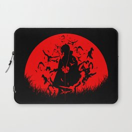 Red Moon Itachi Laptop Sleeve