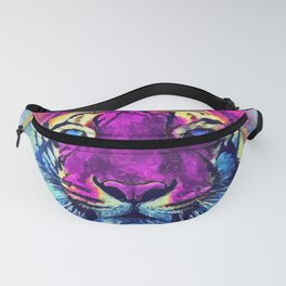 tiger purple spirit #tiger Fanny Pack