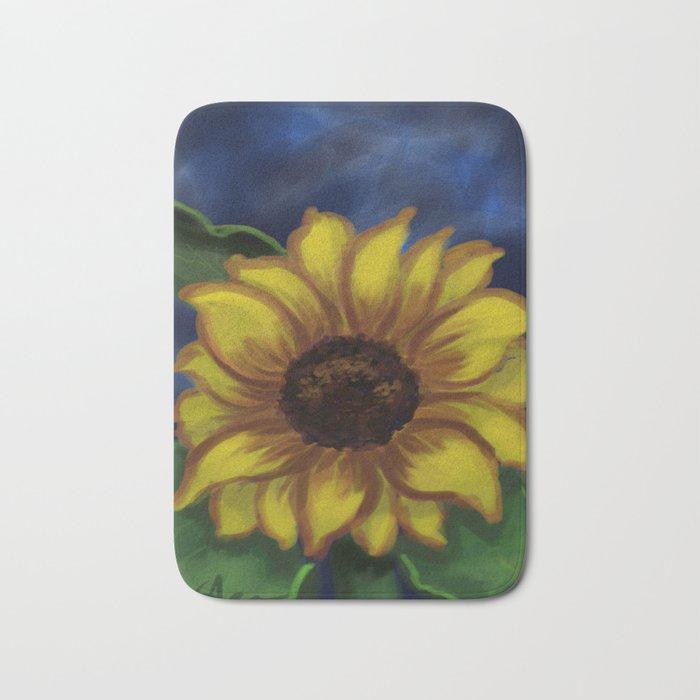 Dramatic Sunflower DP141118a Bath Mat