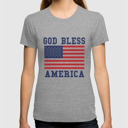 God Bless America Independence Day T-shirt