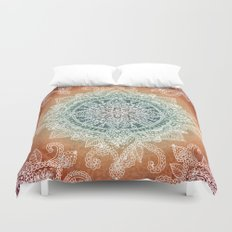 Burning With Desire Duvet Cover