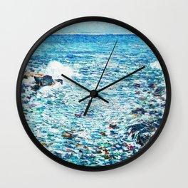 Surf, Isles Of Shoals - Digital Remastered Edition Wall Clock