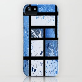 Movin with Pollock, Mondrian & Haring  iPhone Case