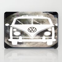 volkswagon iPad Cases featuring Moon Wagon by Isaak_Rodriguez
