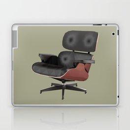 Eames Lounge Chair Polygon Art Laptop & iPad Skin