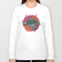 turtle Long Sleeve T-shirts featuring Turtle by ErDavid