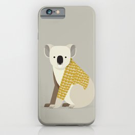 Whimsical Koala iPhone Case