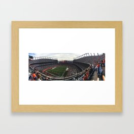 Mile High Stadium Framed Art Print