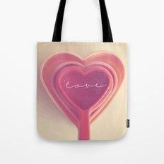 how do you measure love... Tote Bag