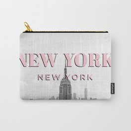 New York Photo Art, New York Wall Art, Decor, Modern, Travel Photography, New York Poster, Fashion Carry-All Pouch