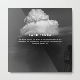 Quotes On Forgiveness Metal Print