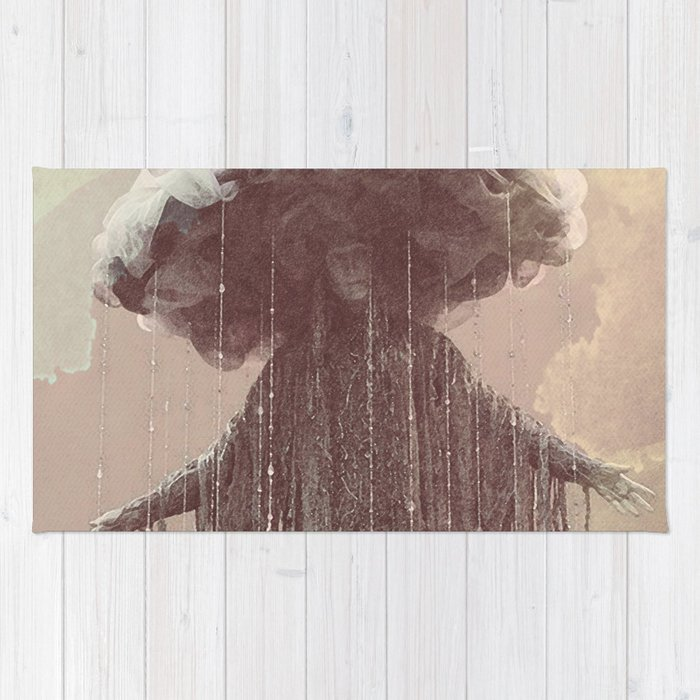 storm lady Rug