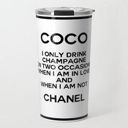 coco quote no. 17 Travel Mug