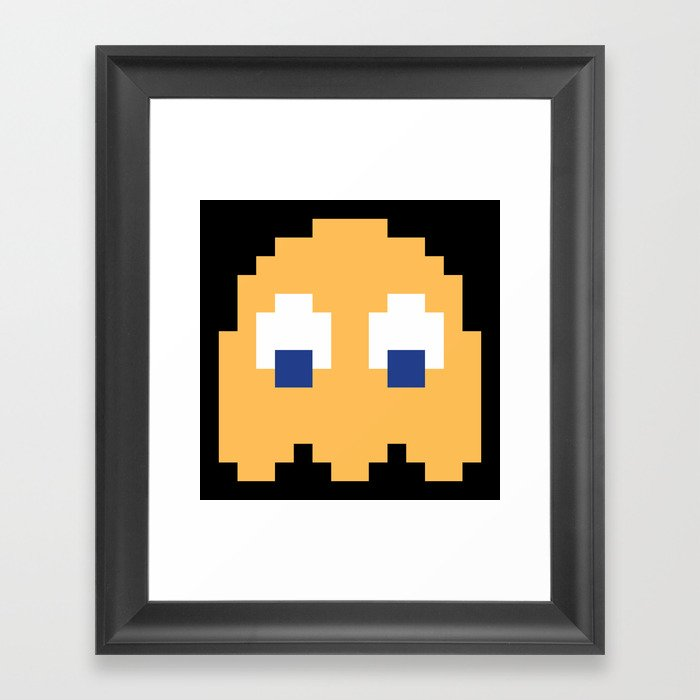 8-Bits & Pieces - Clyde Gerahmter Kunstdruck