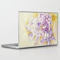 archer Laptop & iPad Skins featuring Lion's Archer by Zien-Art