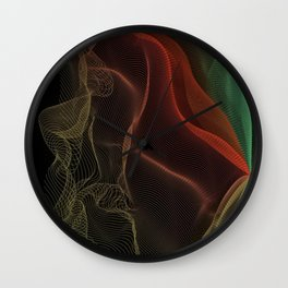 Almost Fluorescent Aurora String Theory #3  Wall Clock